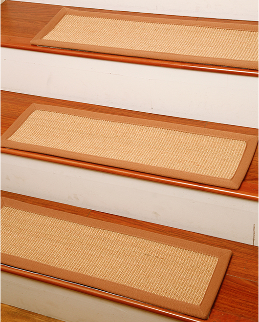 acadia sisal carpet stair treads clearance natural area rugs