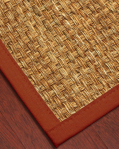 Alps Mountain Grass Rug, Red - Clearance