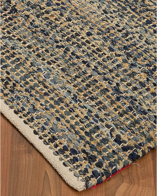 Anitra Cotton Jute Rug - Clearance