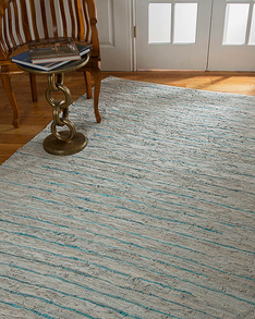 Beckham Leather Rug w/ FREE Rug Pad