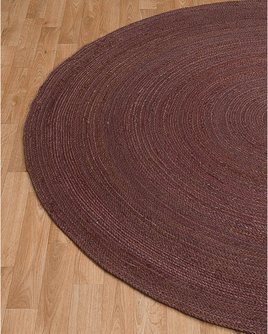 Beijing Jute Round Rug - Clearance