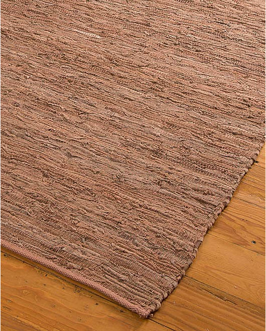 Biscayne Jute/Leather Rug - Clearance