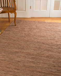 Biscayne Leather Rug w/ FREE Rug Pad