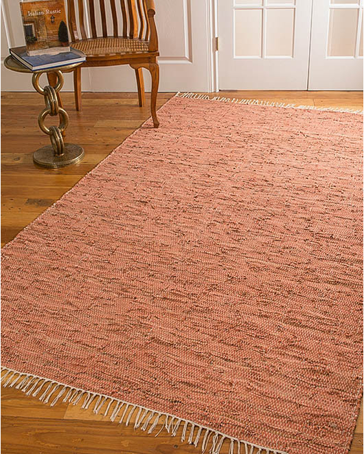 Brasada Leather Rug w/ FREE Rug Pad
