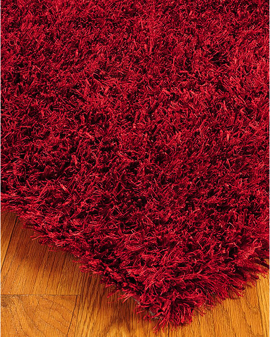 Carnation Shag Rug - Clearance