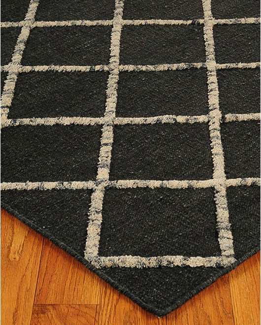 Centre Moroccan Wool Rug w/ FREE Rug Pad