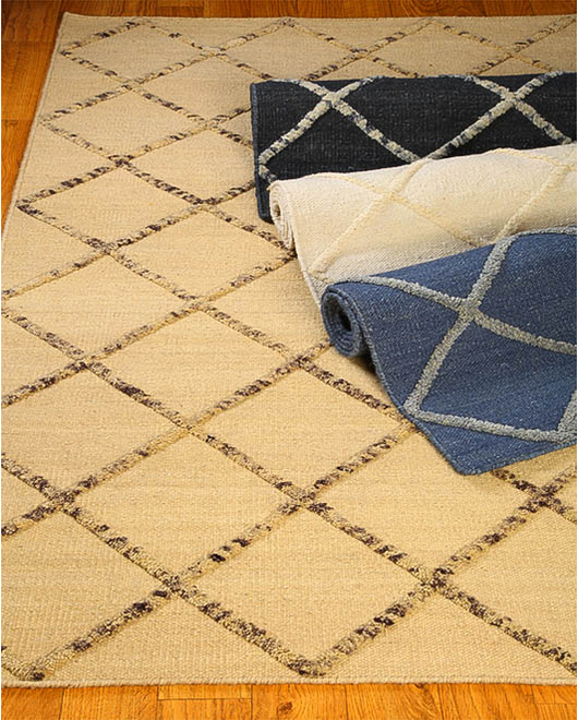 City Limits Moroccan Wool Rug w/ FREE Rug Pad