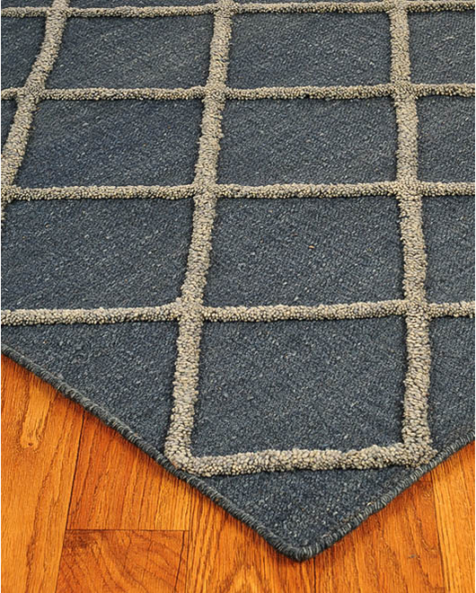 City Retreat Moroccan Wool Rug w/ FREE Rug Pad