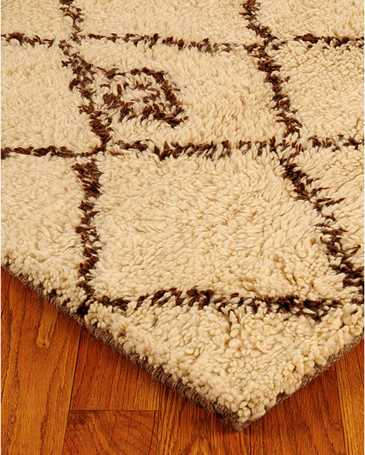 Classic Moroccan Wool Rug - Clearance