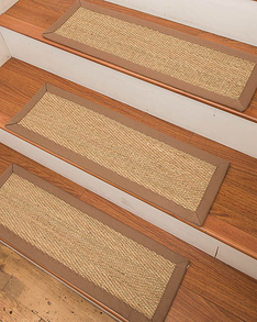 Costa Rica Seagrass Carpet Stair Treads