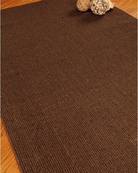 Earth Wool Jute Rug w/ FREE Rug Pad