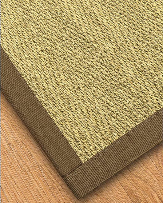 Formosa Seagrass Rug, Fossil - Clearance