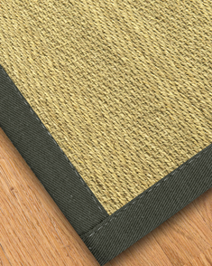 Formosa Seagrass Rug, Metal  - Clearance #7612