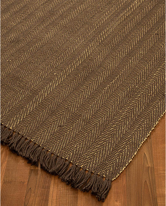 Graphic Jute Rug - Clearance