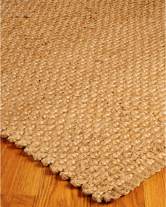 Guilded Jute Rug - Clearance