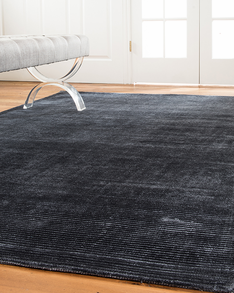Harrison Contemporary Rug, Denim w/ FREE Rug Pad