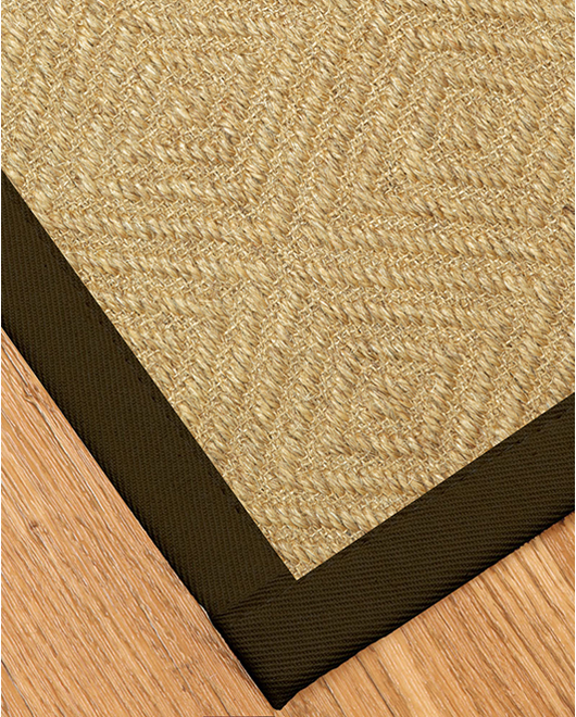 Haven Sisal Rug, Fudge - Clearance