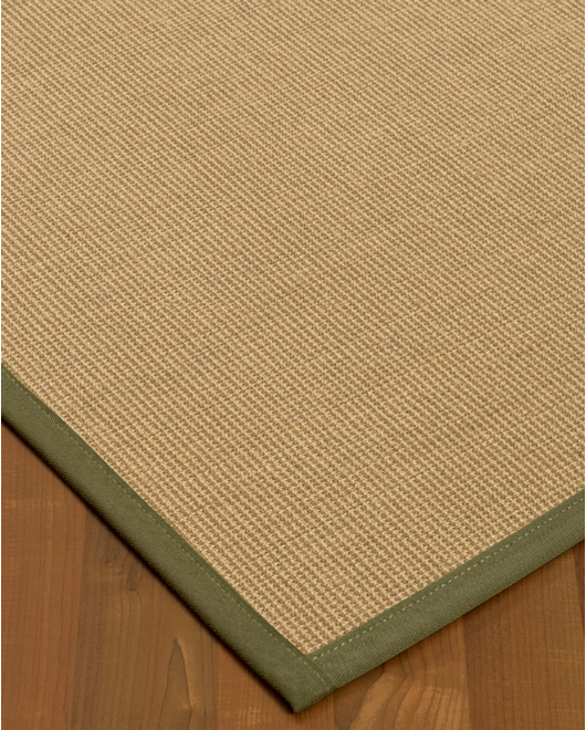 Hibiscus Sisal Rug, Fossil - Clearance