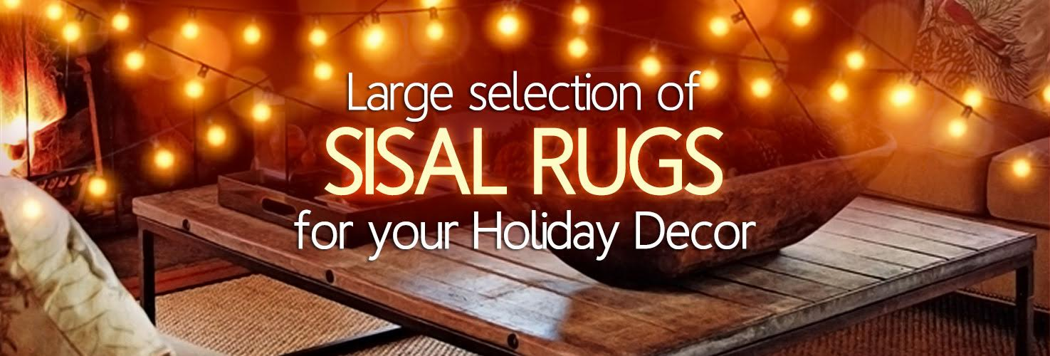 Natural Area Rugs | Affordable Natural Fiber Rugs