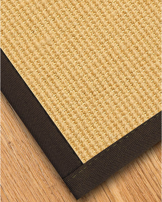 Majesty Wool Sisal Rug, Fudge - Clearance