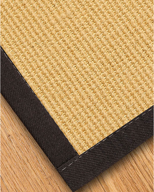 Majesty Wool Sisal Rug, Red - Clearance