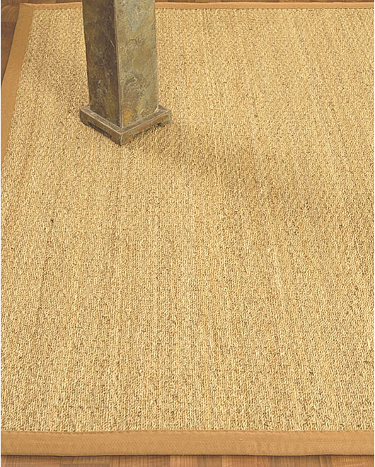 Maritime Natural Seagrass Rug, Honey