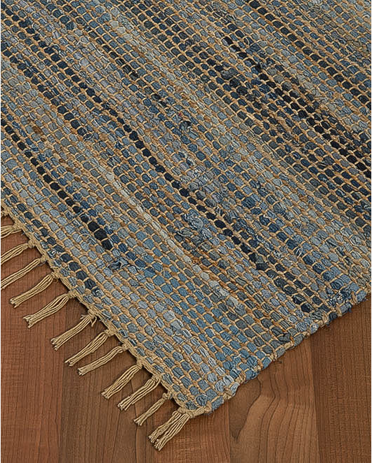 Monaco Cotton Jute Rug - Clearance