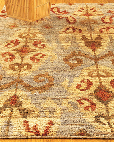 Morning Side Jute Rug w/ FREE Rug Pad