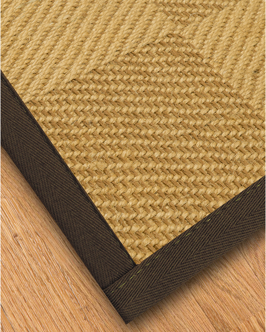 Oberon Sisal Rug, Fudge - Clearance