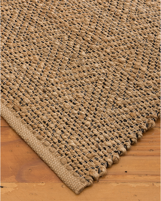 Oriole Jute Cotton Rug - Clearance