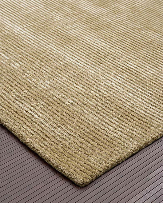 Pashmina Wool Rug, Light Tan - Clearance