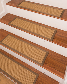 Russell Sisal Carpet Stair Treads