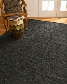 Siesta Leather Rug w/ FREE Rug Pad