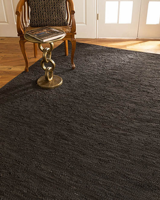 Sorrell Leather Rug w/ FREE Rug Pad