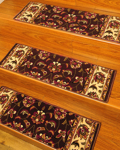 Summit Carpet Stair Treads w/ Landing Mat