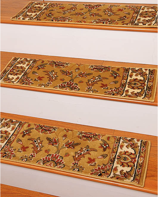 Sydney Carpet Stair Treads - Gold - Clearance