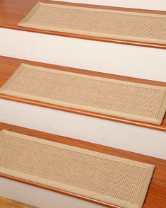 Temperley Sisal Carpet Stair Treads