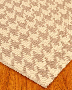 William Dhurrie Wool Rug w/ FREE Rug Pad