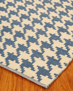 Winchester Dhurrie Wool Rug w/ FREE Rug Pad