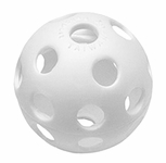 Easton Perforated Plastic Practice Balls 9in - 6 PACK