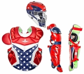 All-Star USA Adult System 7 Axis Professional/College Catcher's Gear Set CKPRO1XUS