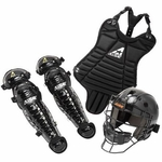 All-Star Black Youth League Series T-Ball Catcher Kit CKBX-TBALL