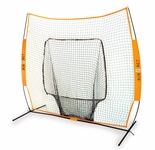 Bownet Big Mouth Portable 7 x 7 Hitting Net