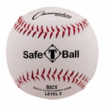 "Champion 9"" Level 5 Soft Compression White Baseballs BSC5 -- 1dz"