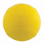 "Champion 9"" Safety PU Sponge Yellow Training Baseball PMB9"