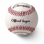 "Champion 9"" Sport Official League White Baseballs OLBXX -- 1 dz"