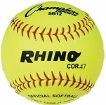 "Champion Rhino 12"" Optic Yellow Softballs SB12 (2017) -- 1 DZ"