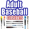 CLOSEOUTS: Adult BBCOR Baseball Bats