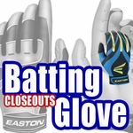 CLOSEOUTS: Batting Gloves