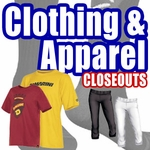 CLOSEOUTS: Clothing and Apparel
